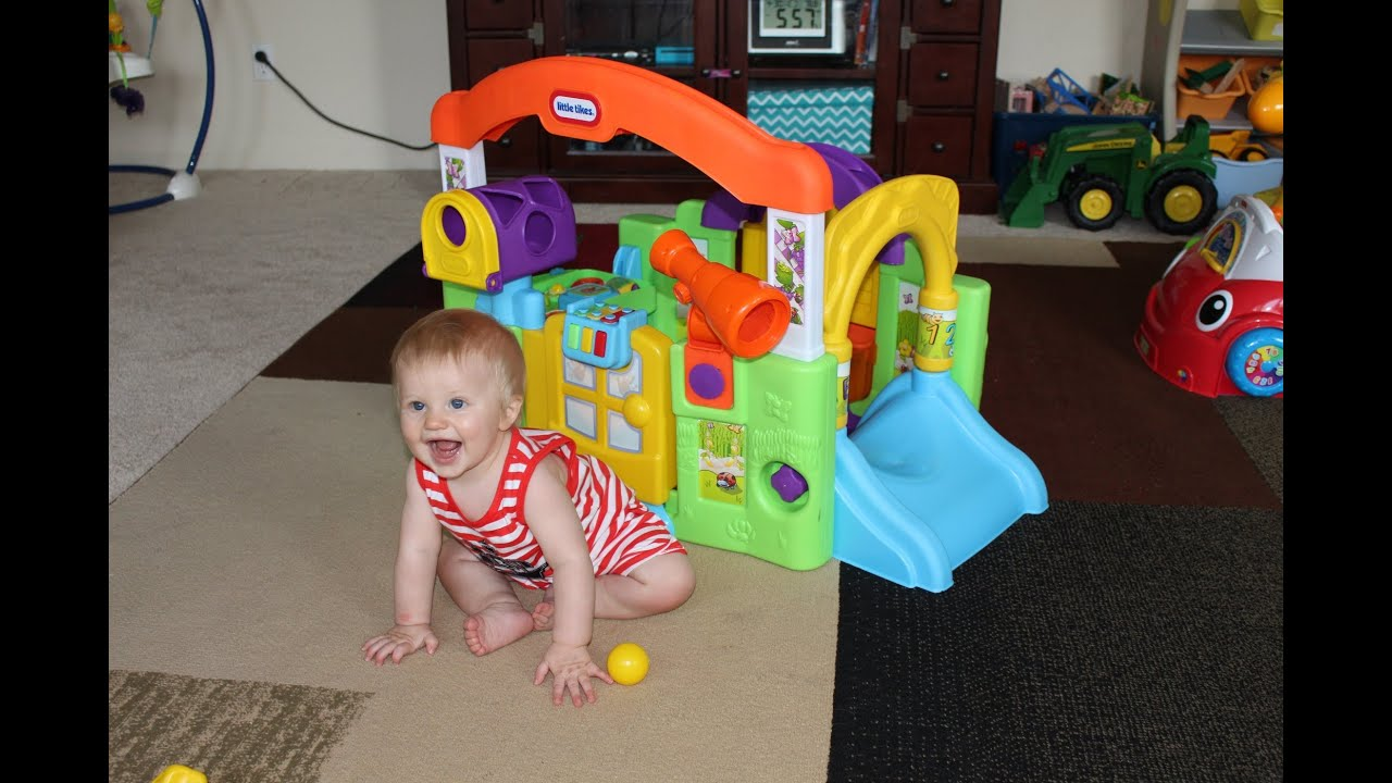 Little Tikes Activity Garden Unboxing Playtime Review