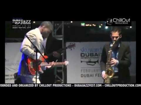 Julian Vaughn Live at the 10th Dubai Int'l Jazz Fest 2012 (Jazz Garden)