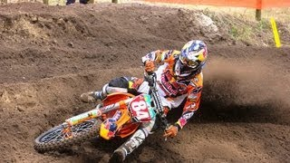 More whips van Jeffrey Herlings + spannende strijd om de tweede plaats in ONK MX2 in Oldebroek