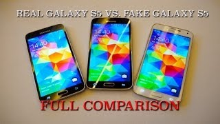 Real Vs. Fake Samsung Galaxy S5