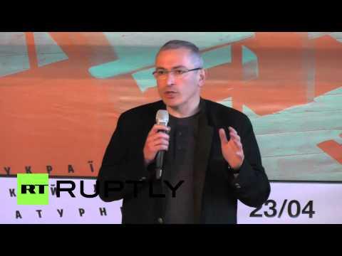 Ukraine: Russia and Ukraine have a common future says Khodorkovsky