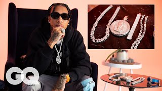 Tyga Shows Off His Insane Jewelry Collection   GQ