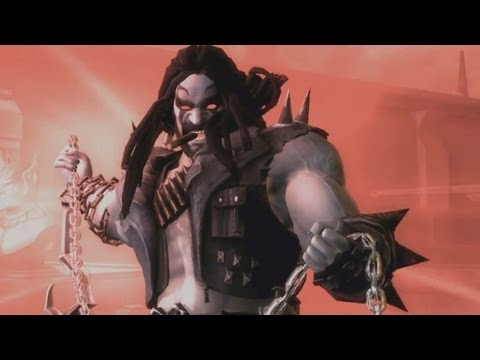 Injustice Gods Among Us - Lobo DLC Trailer