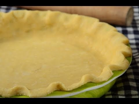 Pie Crust Recipe Demonstration - Joyofbaking.com