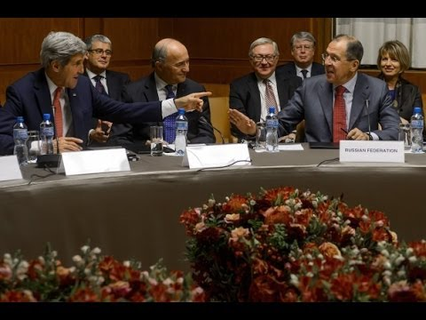 6 World Powers Begin Negotiations On Iran