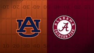 [LIVE] Alabama vs Auburn Live! Iron Bowl! No Lag Real Time! *read description*