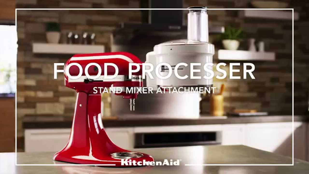 Kitchenaid Mixer Attachment Food Processor