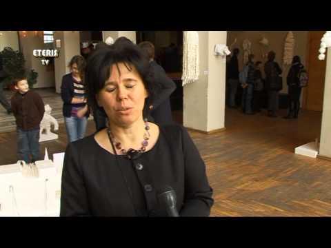 """ETERIS TV 2014.01.28 Prienų kultūros ir laisvalaikio centre paroda """"Žiemos improvizacija"""""""