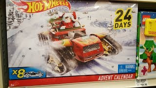 Hotwheels Advent Calendar Unboxing