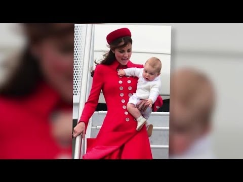 Prince George Makes his Royal Debut