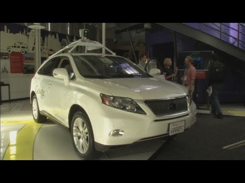 Google shows off its driverless cars in California