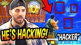NICKMERCS EXPOSES AN *AIMBOT* HACKER LIVE ON STREAM! (CRAZY!) Fortnite SAVAGE & FUNNY Moments