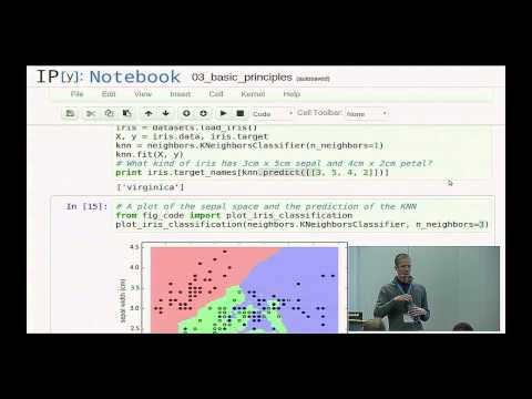 Jake Vanderplas, Olivier Grisel: Exploring Machine Learning with Scikit-learn - PyCon 2014