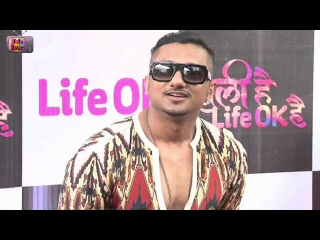 Yo Yo Honey Singh Live Performance On Blue Eyes Song on LIFE OK TV Feb 2014