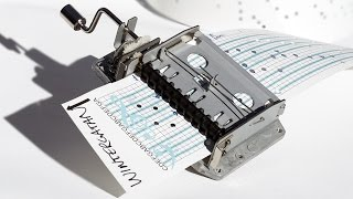 How To Program a Music Box - Hole Punch Tutorial