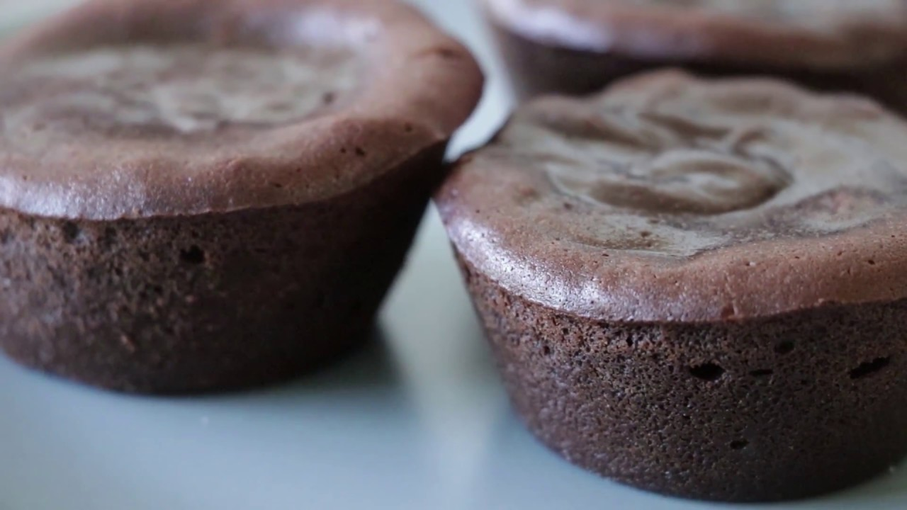 Fondants au chocolat – Molten heart Chocolate Lava Cakes