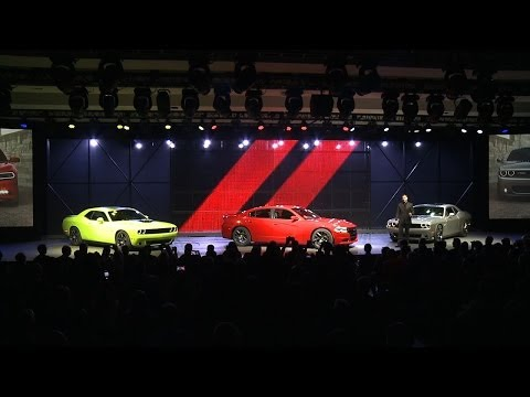 2015 Dodge Charger/Challenger Reveal at NY Auto Show