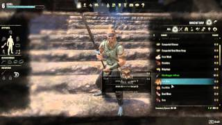 Elder Scrolls Online Guide To Getting Weapons & Armour
