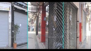 فيديو من وسط مدينة الدارالبيضاء..كولشي ساد بسباب الفْراشة  