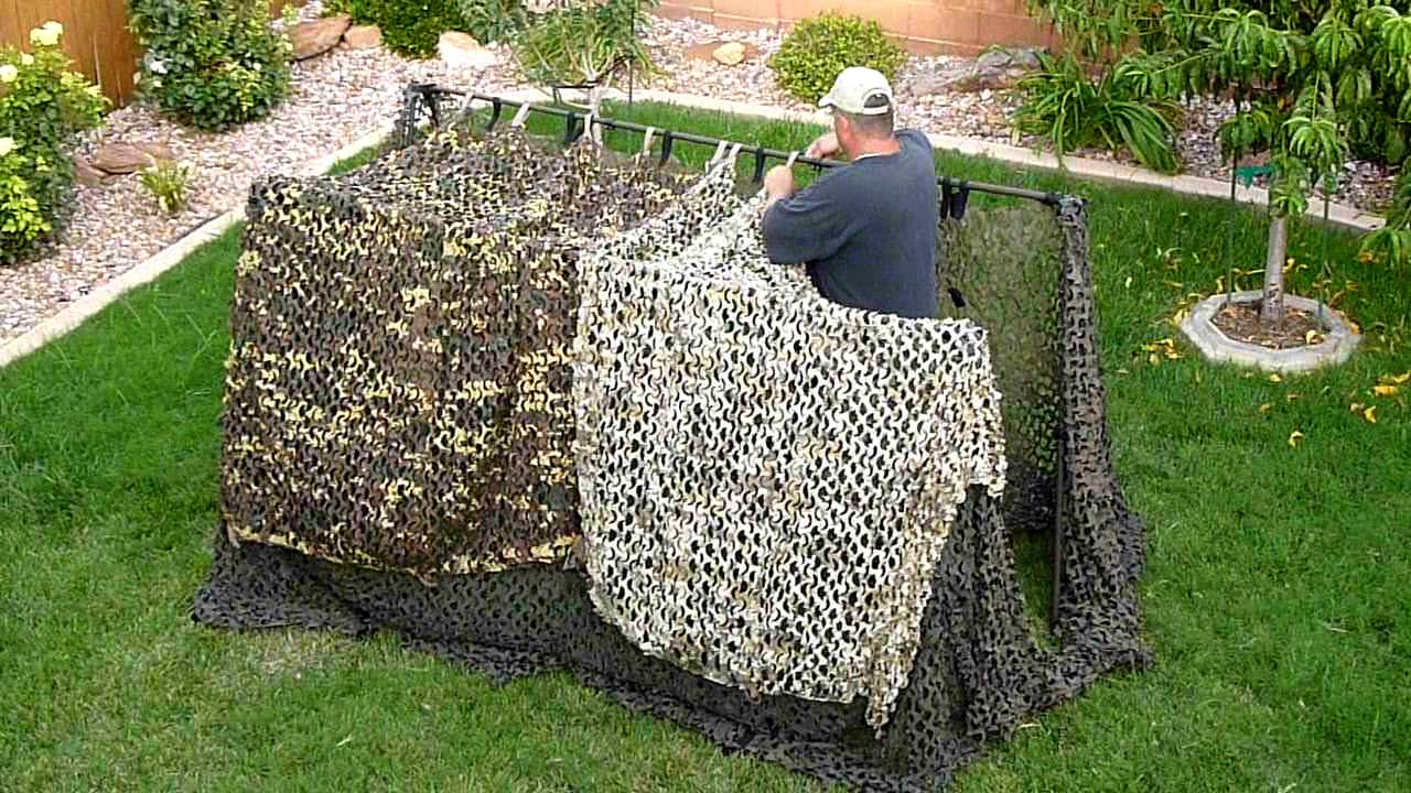 Adjust A Blind Unique Hunting Blinds Interchangeable Camo
