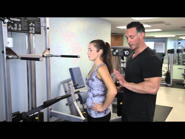 How to Set the Weight for Gravitron Exercises : Fitness & Body Health