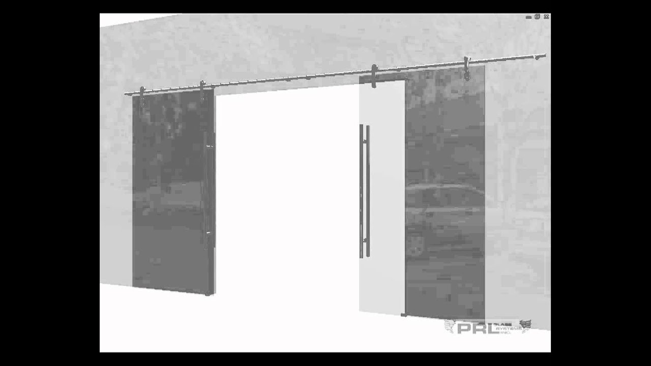 Top hung sliding door systems youtube for Top hung sliding glass doors