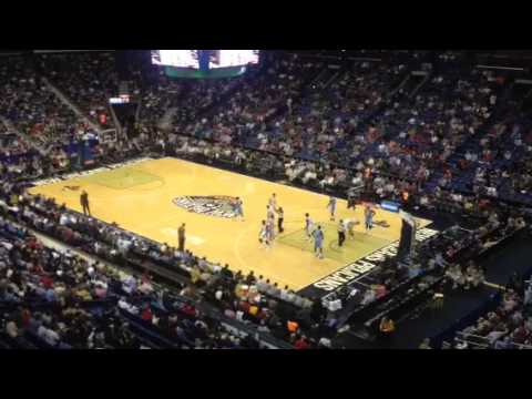 New Orleans Pelicans Basketball game vs Golden Nuggets