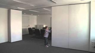 Trennwand Fur Konferenzraume Tagungsraume Und Restaurants Youtube