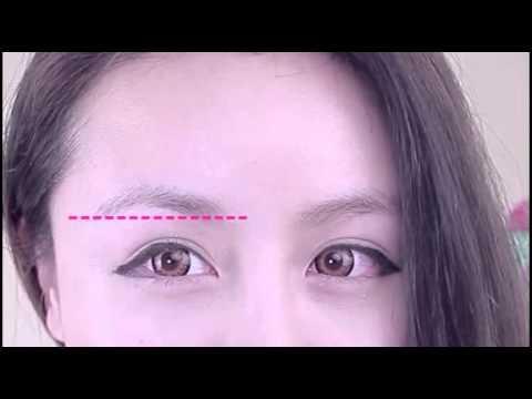 Cách kẻ lông mày ngang Hàn Quốc - Lynkhouse.com