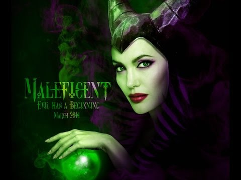Angelina Jolie Maleficent - Photoshop Makeover by Garson