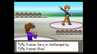 Pokemon Multiverse - Gary vs Blue (Johto & Kanto League teams)