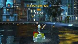 LEGO Batman 2 DC Super Heroes All Gold Bricks In Gotham