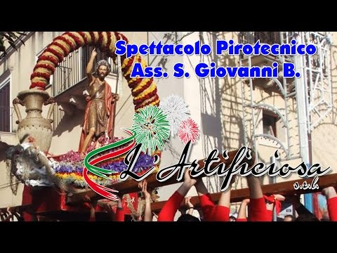LUCCA SICULA (Ag) - PASQUA 2017 - L'ARTIFICIOSA dei F.lli DI CANDIA (2° Postazione)