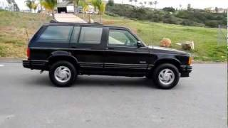 1993 Oldsmobile Bravada Smart Trac 4x4 Leather Loded Olds Blazer For Sale