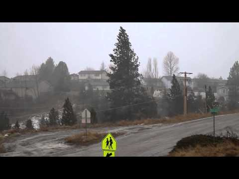 High Wind Event in Western Montana