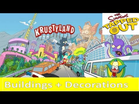 Simpsons Tapped Out Krustyland