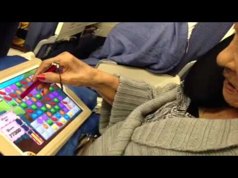The oldest Candy Crush Saga player 93 years old