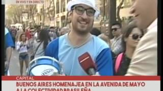 Buenos Aires Celebra Brasil 2016 | Nota CRONICA