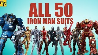 All 50 IRON MAN Suits Explained (MCU)