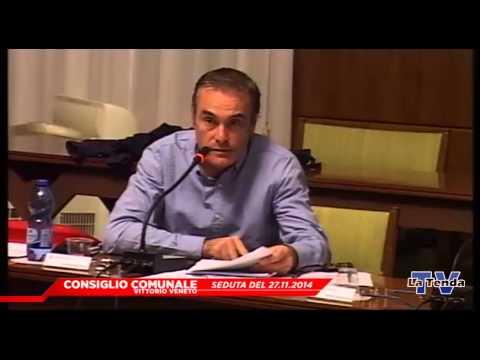 CONSIGLIO COMUNALE VITTORIO VENETO - Seduta del 27.11.2014