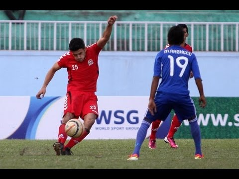 Afghanistan vs Maldives (Highlights) SAFF Championship 2013