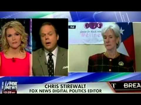 ObamaCare Disaster - Kathleen Sebelius Shown the Door (