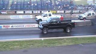 Page 1 of comments on drag race lifted ford 6.0 powerstroke diesel vs