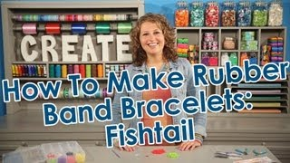 How To Make Rubber Band Bracelets Fishtail