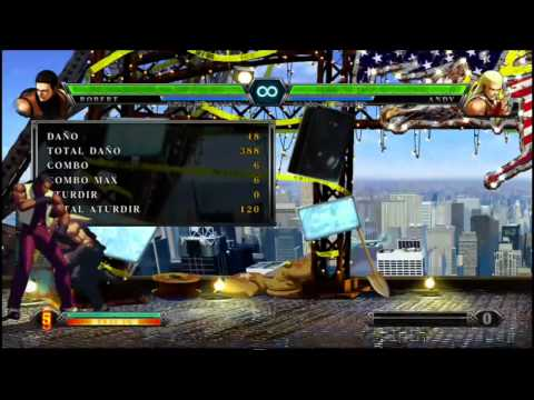 KOF XIII BALA Combos 2 (Terry, Andy, Joe, Kyo, Robert)