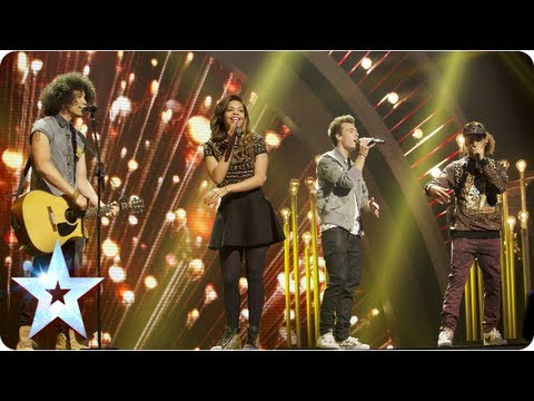 Luminites sing 'Hurt So Good' and sing it sooo good | Final 2013 | Britain's Got Talent 2013