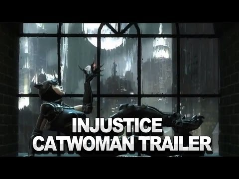 Injustice: Gods Among Us - Catwoman Trailer