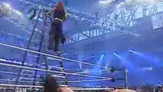 jeff hardy jumps off 20 foot ladder