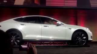 Tesla Battery Swap in 2 minutes