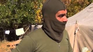 Блокпост сил АТО на Донеччині